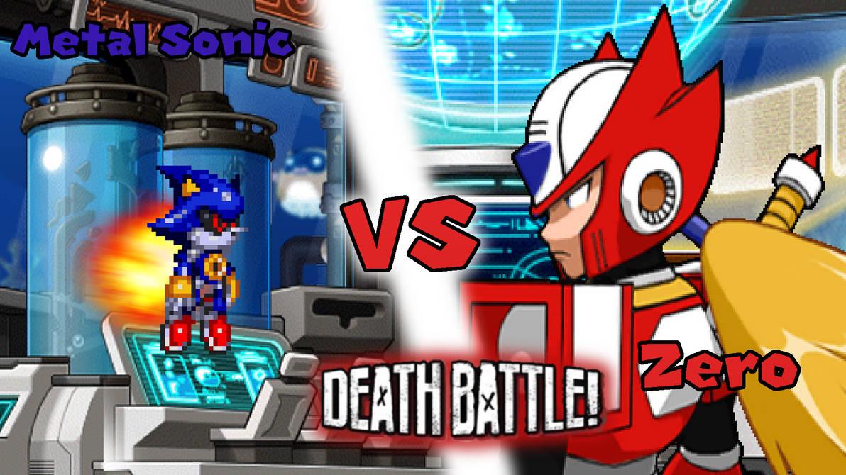Death Battle Metal Sonic Vs Zero Fa Wallpaper By Mattplaysvg On
