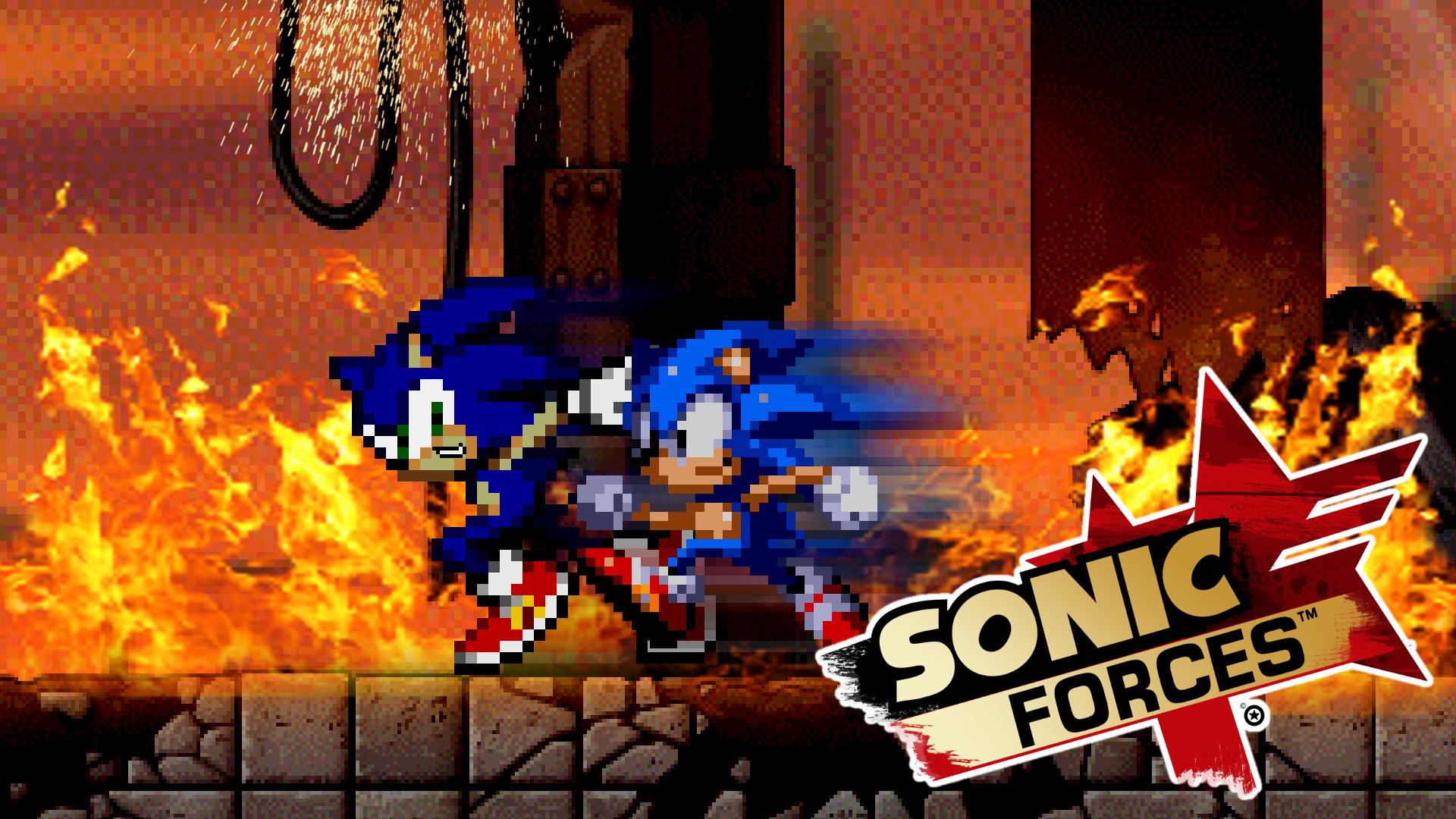 Sonic Forces Fan Art Wallpaper By MattPlaysVG On DeviantArt