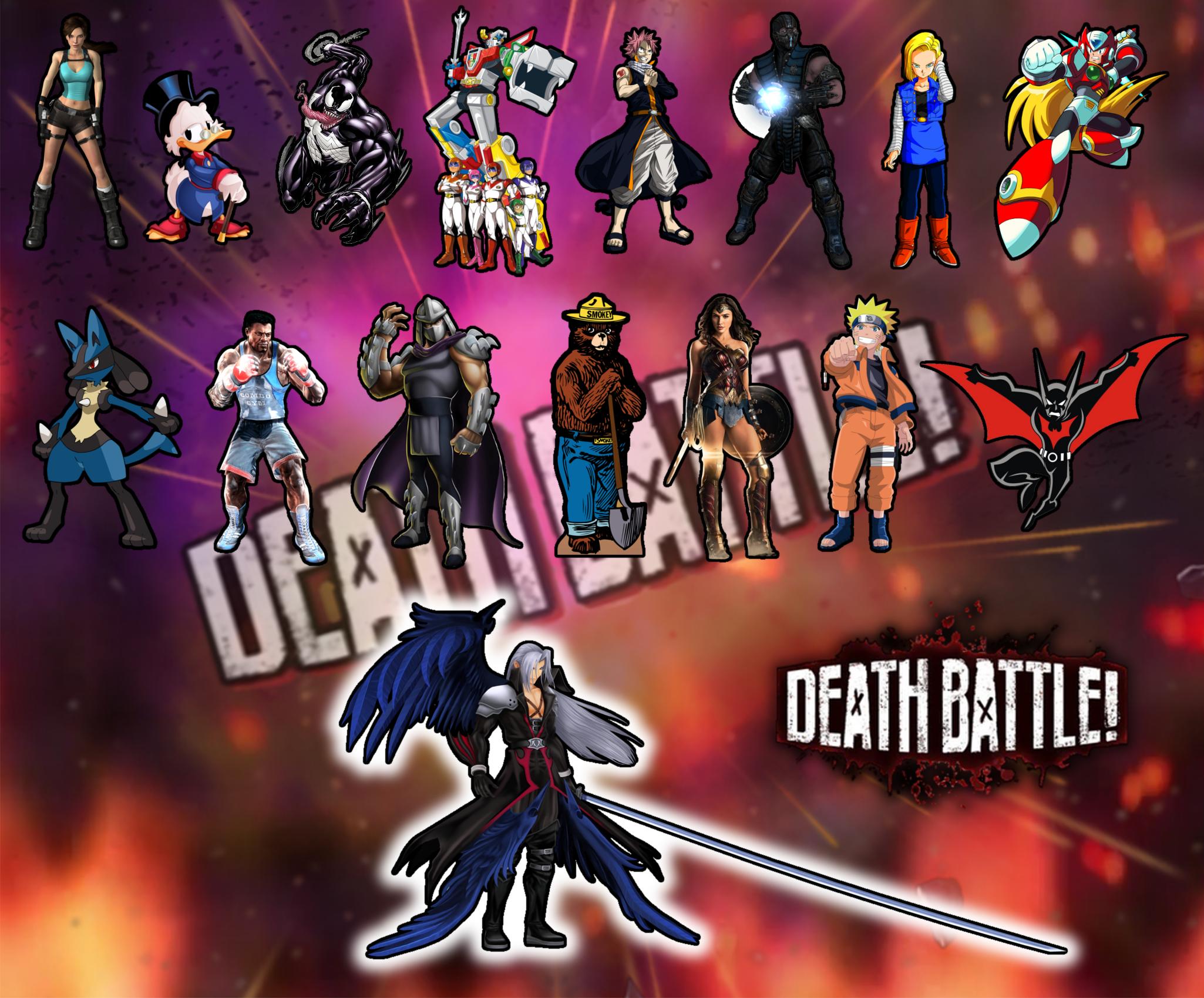 DEATH BATTLE! Season 4 combatants list Wallpaper by