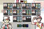 Pokemon - Red (GSC - USUM) Trainer Card Wallpaper
