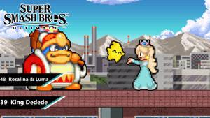 Super Smash Bros. Ultimate - King Dedede AND R-L