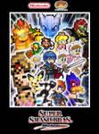 Super Smash Bros. Ultimate - Melee Fighters Poster