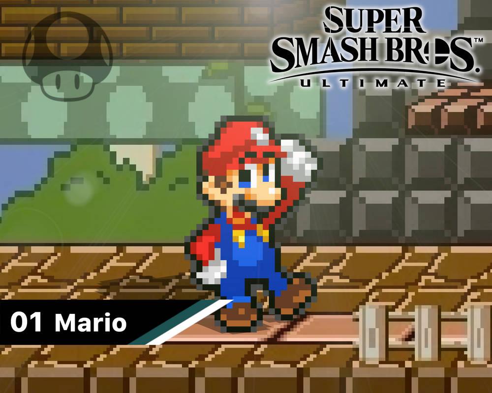 Smash Ultimate #01: Mario