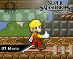 Smash Ultimate #01: Mario [Builder Outfit]