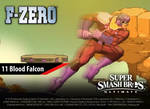 Smash Ultimate #11: Blood Falcon [Alt.]