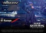 81. Kazuya (Suit) | Super Smash Bros. Ultimate