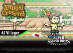 45. Villager (Racer 6)   Smash Ultimate