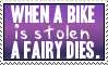 Stolen bike Stamp by metal-marty
