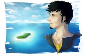 My Heart is an Island - Trafalgar Law by PirateHeartbeat