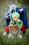 Evil will rule the World | Vaati + Link I by PirateHeartbeat