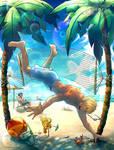Summer Break by PirateHeartbeat