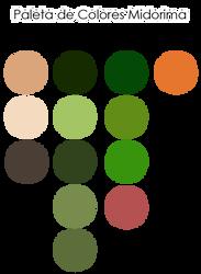Color Palette Midorima by naruble