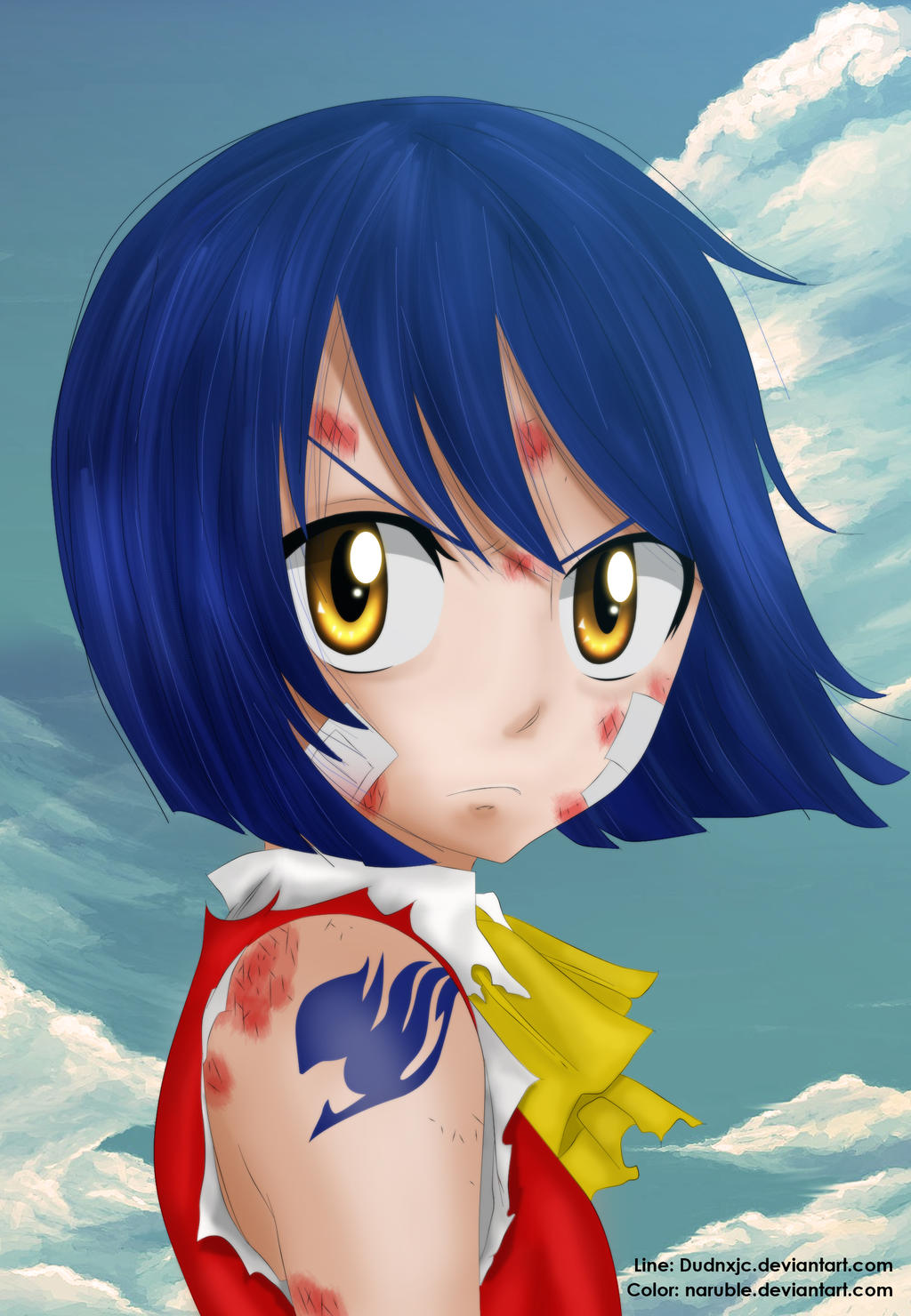 ♣Wendy♣Mage♣Fairy Tail [EN COURS] Wendy_marvell_by_naruble-d7mufsa