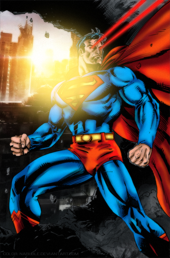 Superman by naruble