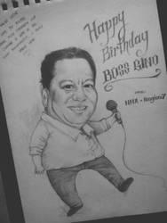 Birthday Caricature by lorain05