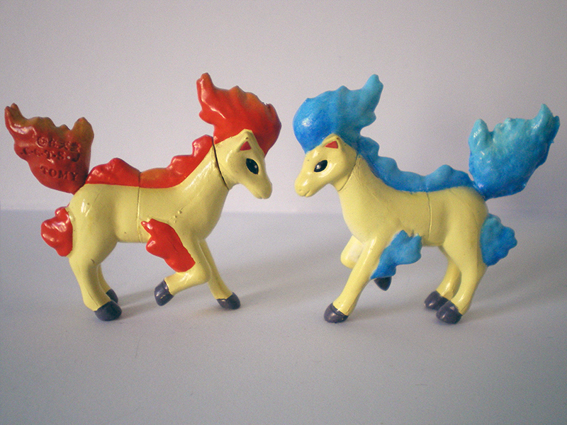 Shiny Ponyta repaint by LittleMissAntiSocial