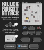 Killer Robot Attack by skeddles