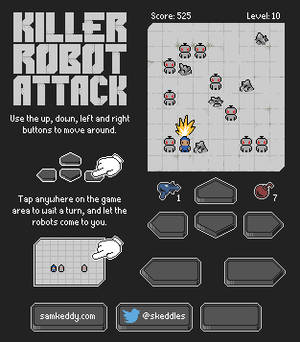 Killer Robot Attack