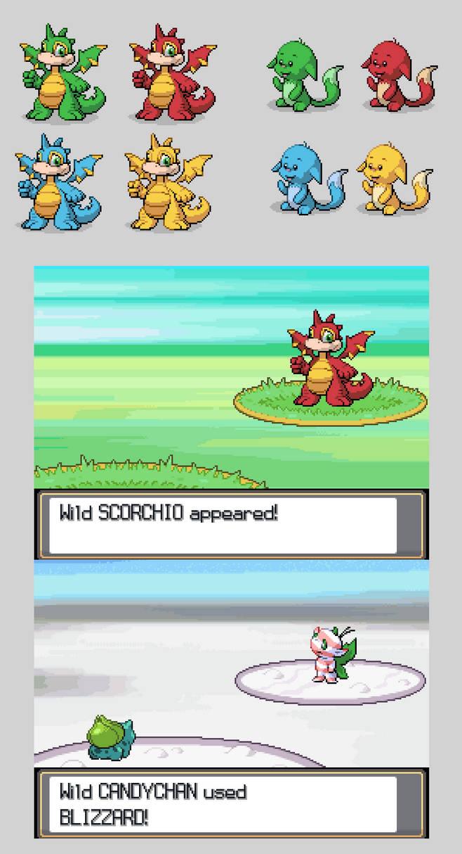 Neopets as Pokemon Sprites