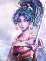 FFVI - Terra Branford by Midorisa