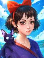 Ghibli - Kiki by Midorisa