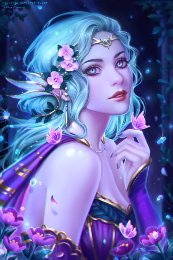 Moon Elf by Midorisa
