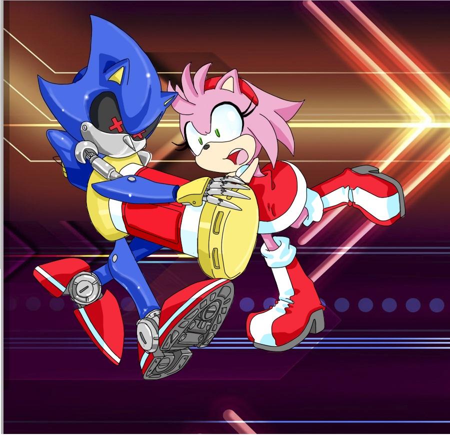 Amy vs Metal Sonic