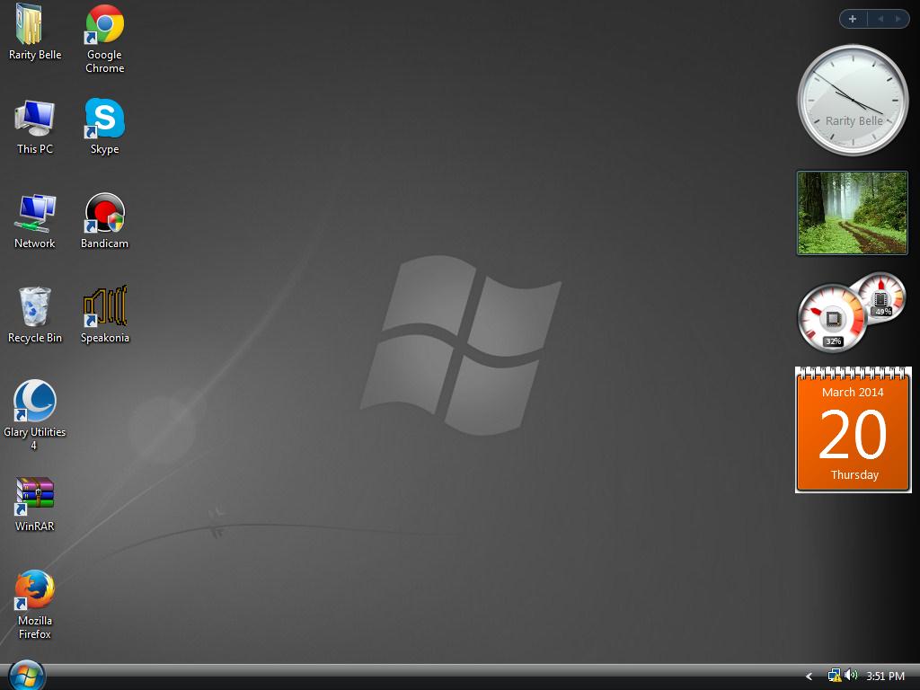 Vista No Desktop Explorer