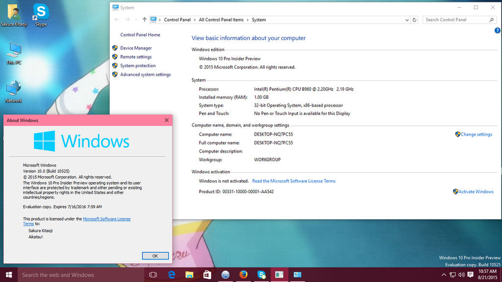 Windows 10 insider preview builds updates et infos diverses f13s1 windows 10 insider preview build 10525 555150016 ccuart Gallery