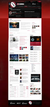 Screendesign for sale - red