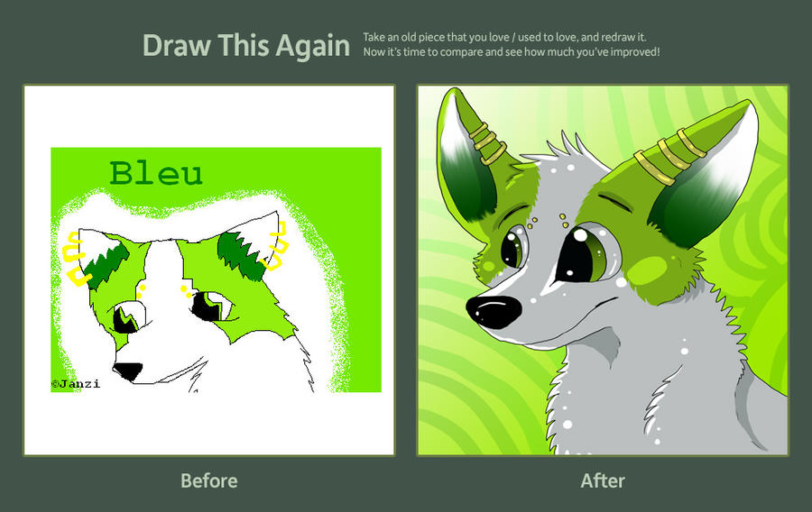 Draw This Again Challenge by Janziu