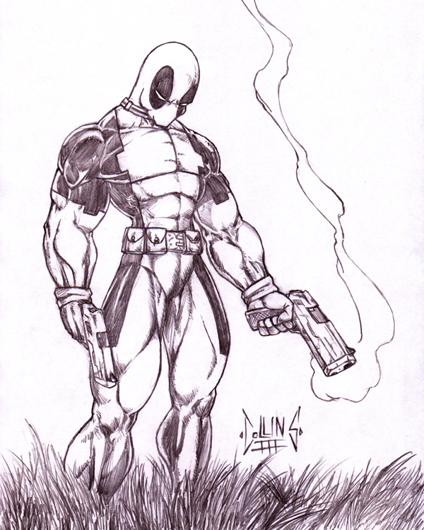 Deadpool On The Hunt By DW DeathWisH ...