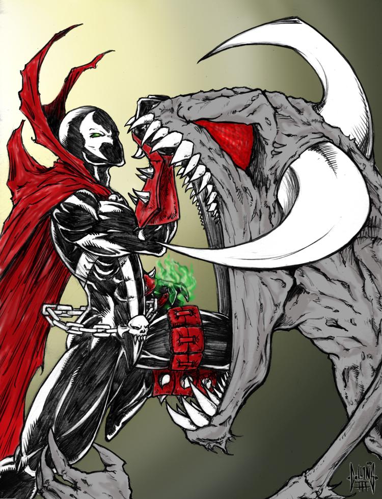 Spawn vs Violator by DW-DeathWisH