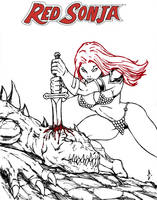 Red Sonja Wins by DW-DeathWisH