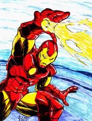 Iron Man by DW-DeathWisH