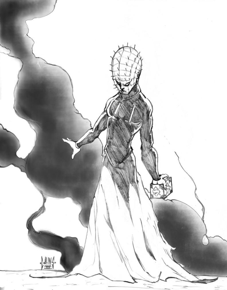Pinhead - Hellraiser by DW-DeathWisH