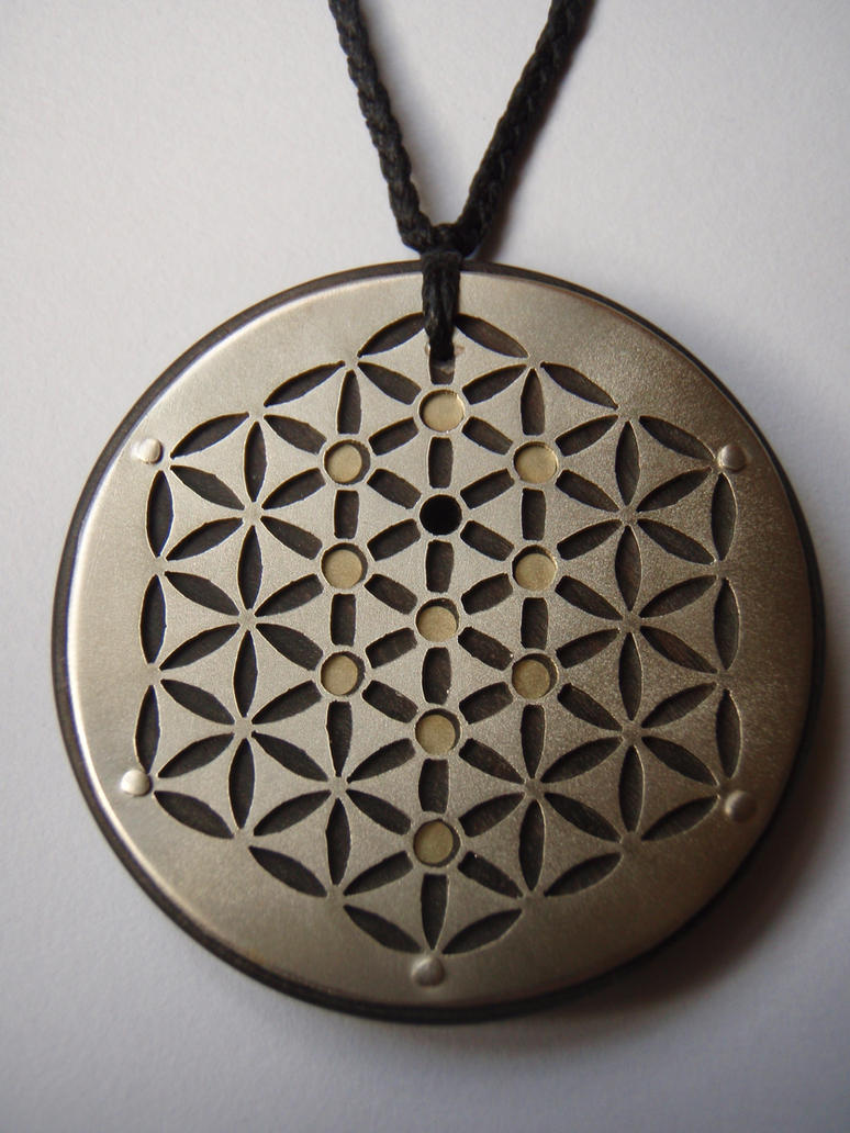 flower of life and tree of life pendant by jeanburgers on deviantart. Black Bedroom Furniture Sets. Home Design Ideas