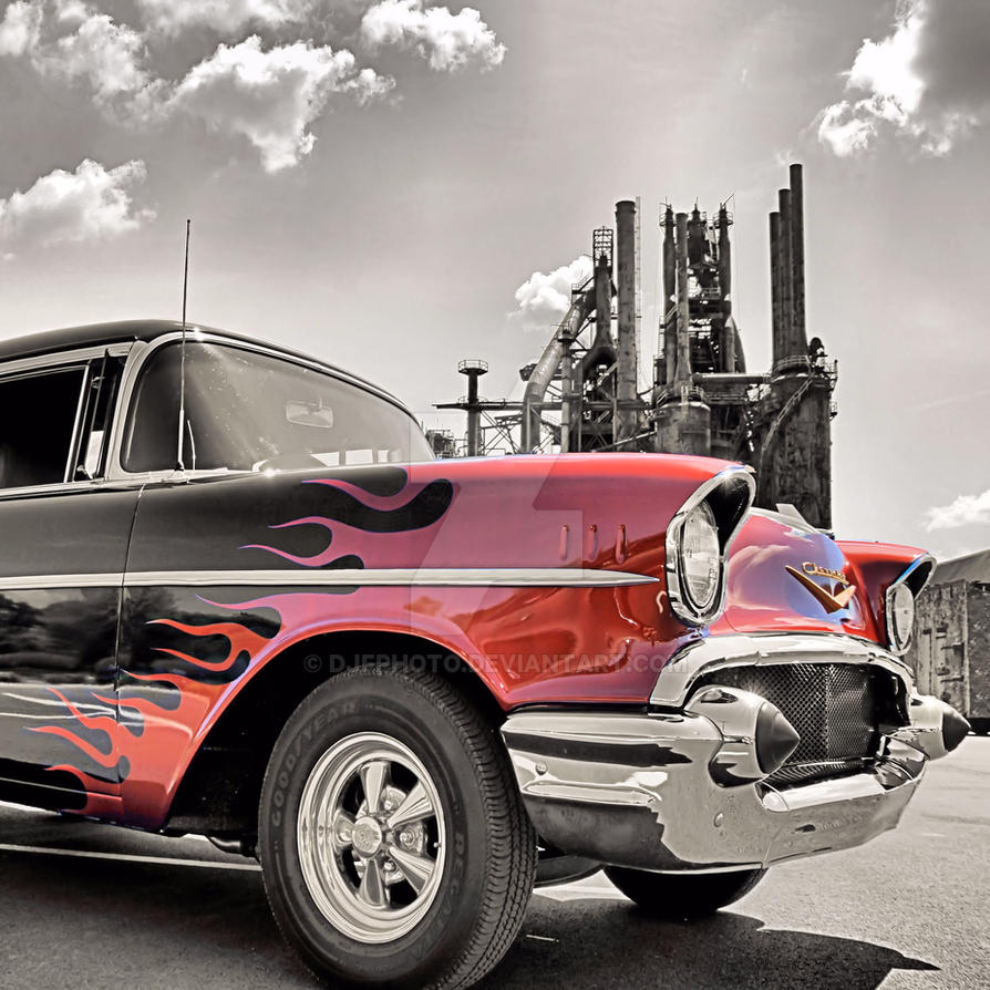 Flamin' 57 by DJFphoto