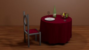 My first 3d Image