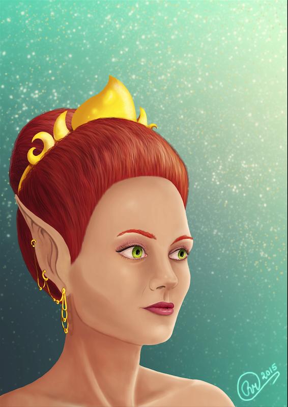 Her Highness by LuniLuna