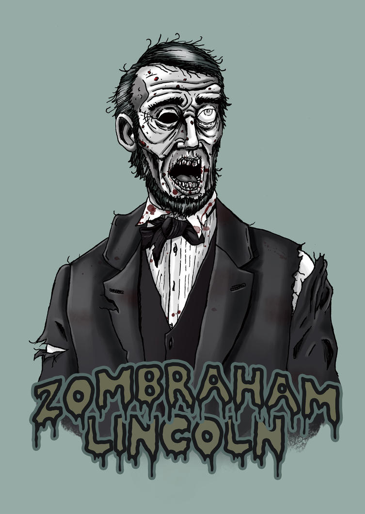 Zombraham Lincoln by Jeff-Drylewicz