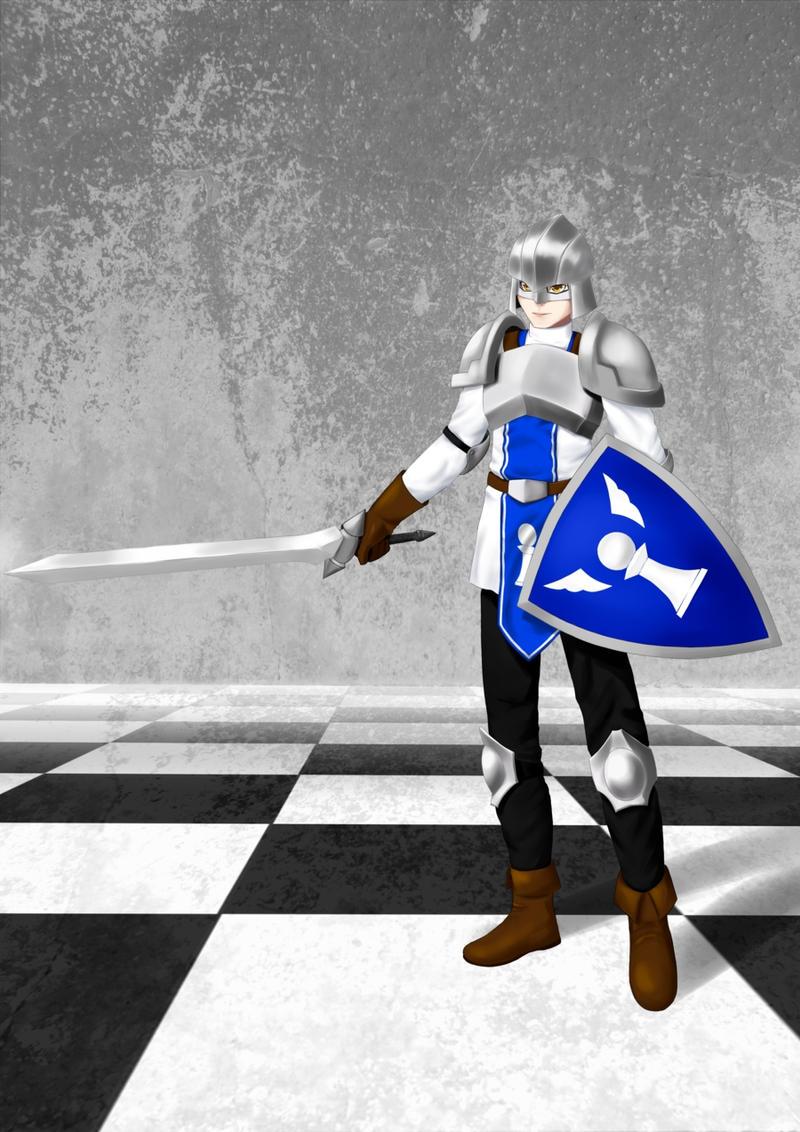 Chess: White Pawn by TakemaKei