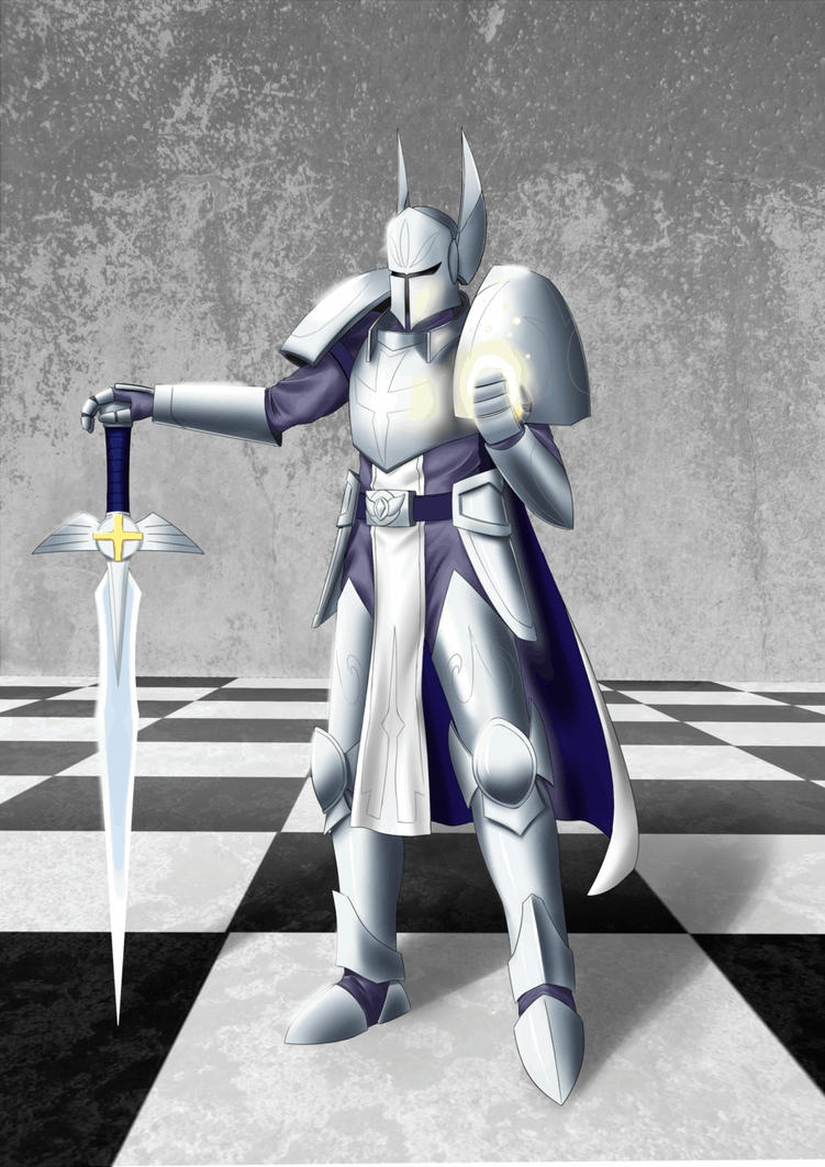 Chess: White Promoted Pawn (Queen Version) by TakemaKei