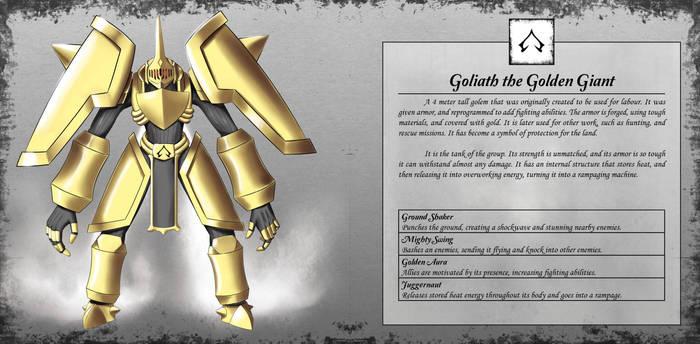Goliath the Golden Giant