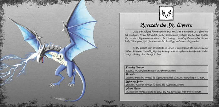 Quetzale the Sky Wyvern