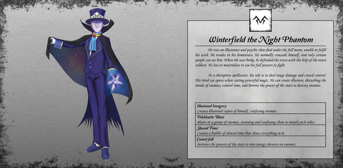 Winterfield the Night Phantom