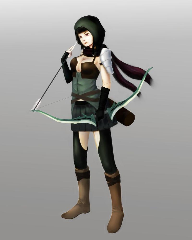 archer by TakemaKei