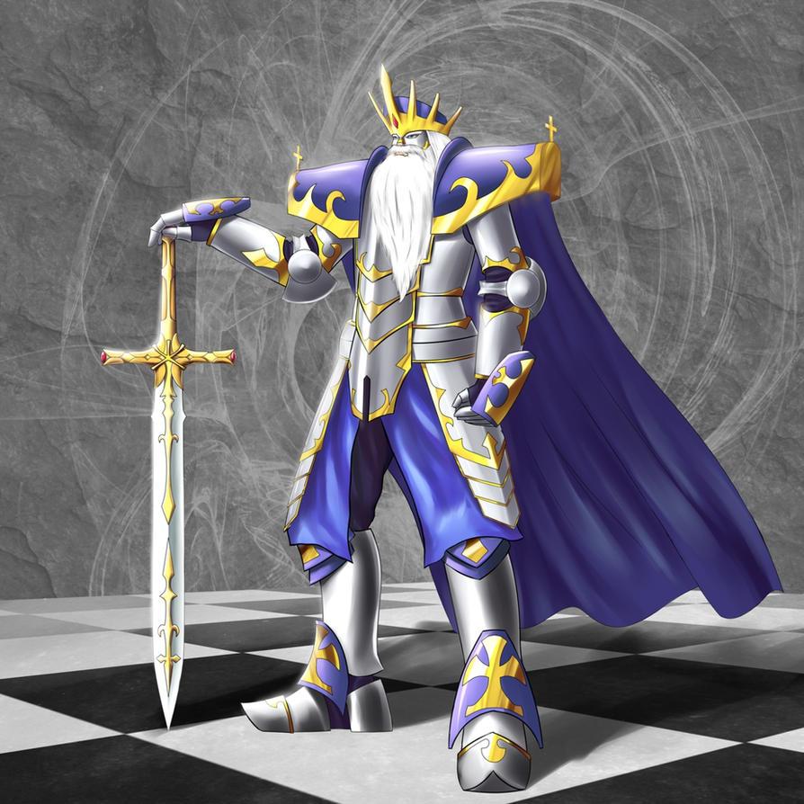 Chess: White King by TakemaKei