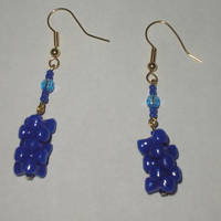Blue Earrings 1 by Rad1986