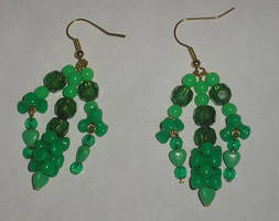 Green Earrings 1 by Rad1986